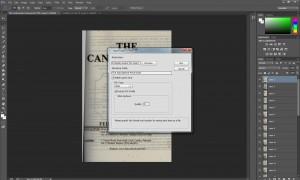 convert jpg layers into pdf