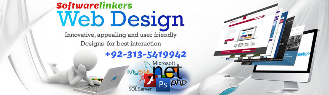 Web design services in Jhelum Pakistan - Software Linkers