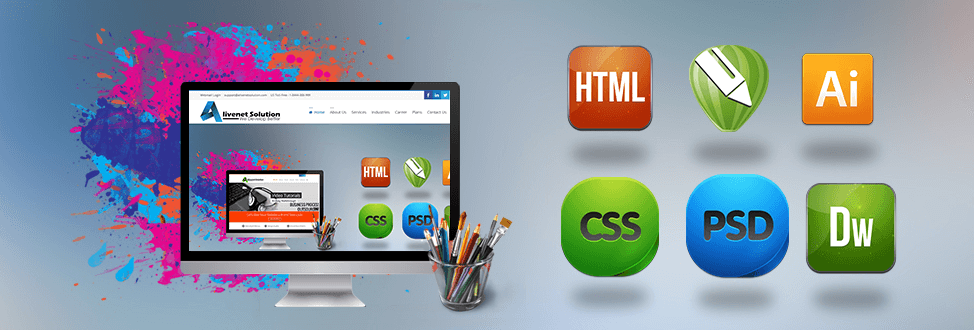 Graphic and Web Designing Company - Software Linkers