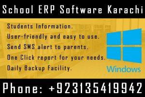 School erp software Karachi