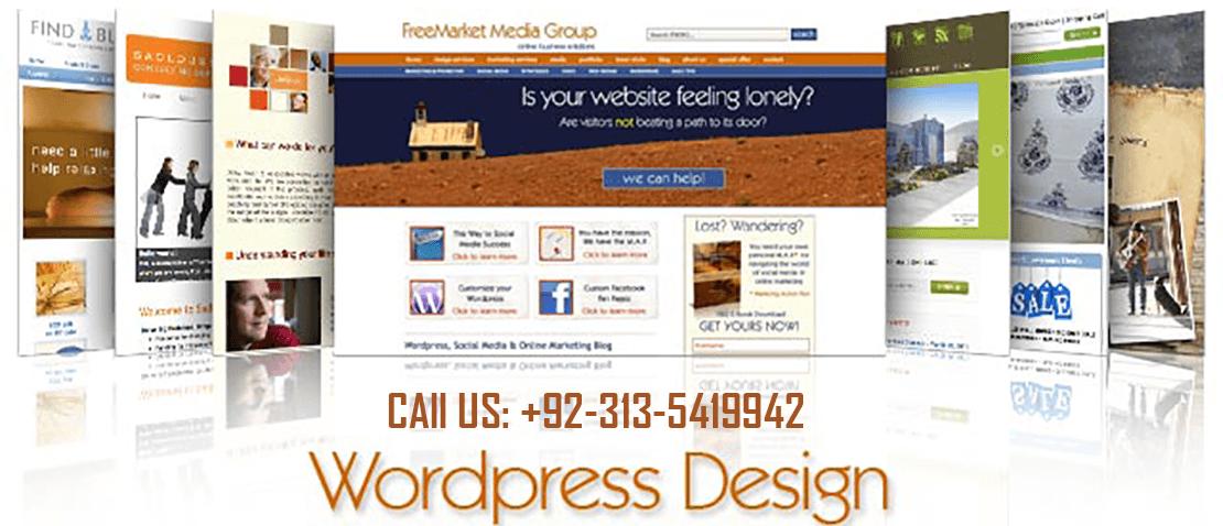 WordPress web designer | Developer - Software Linkers