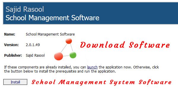 School management system software free download full version