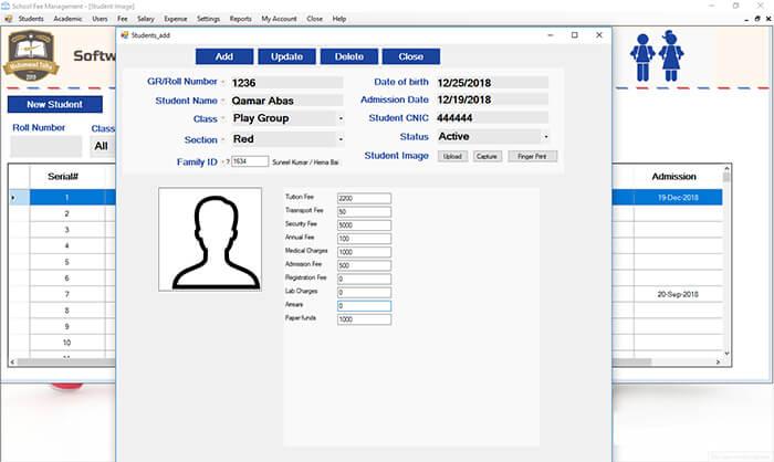 School fee Management Software Pakistan